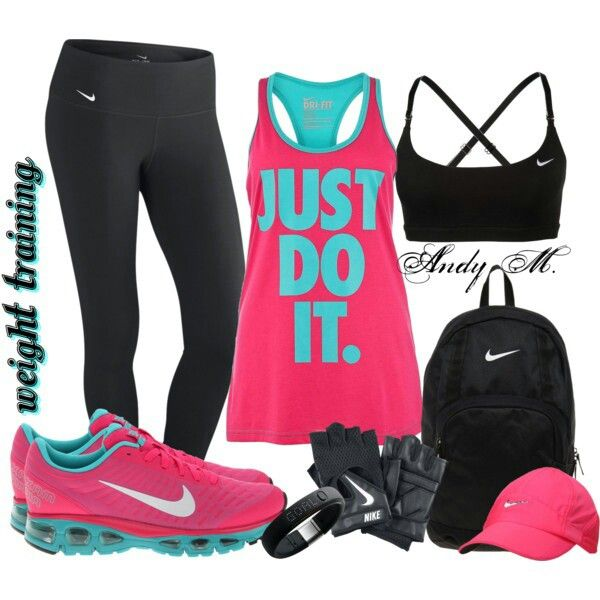 Any nike workout clothes is my weakness! Love it, wear it all the time