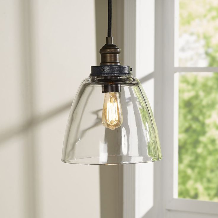 Bedford 1 light mini farmhouse pendant