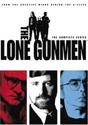 Tom Braidwood, Dean Haglund, and Bruce Harwood in The Lone Gunmen (2001)