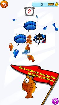 "Penguin iPad game. Gulp!  Toss fish to penguins in ""Penguin Pre-K: Preschool Numbers, Letter, Colors, Matching, and Math"" Mrs. Judd's Games https://itunes.apple.com/us/app/penguin-pre-k-preschool-numbers/id641437928?mt=8"