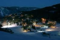 Believe it or not, but it does snow in Australia! This is Falls Creek, finest ski resort in Victoria, Australia