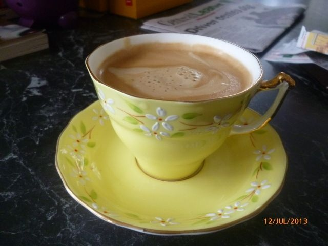Gorgeous new cup....