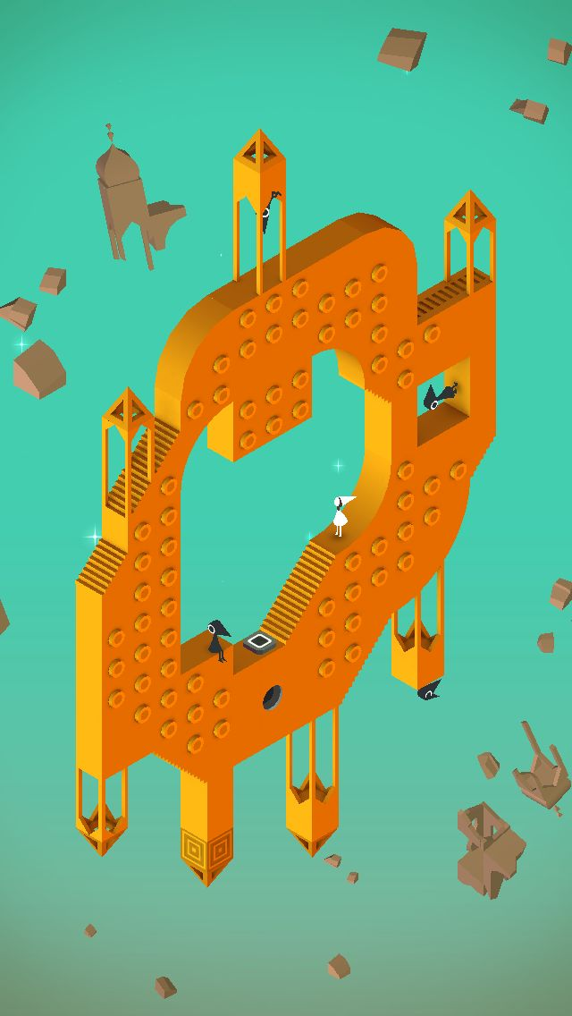 Upside down … #MonumentValley iOS #Game by ustwo
