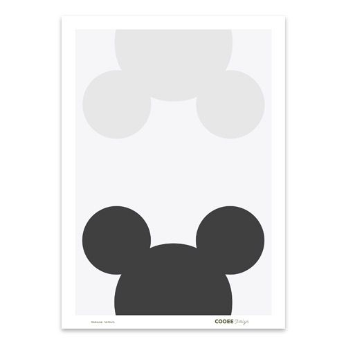 designdelicatessen - Cooee Design - Mouse Remix - Plakat - Cooee Design