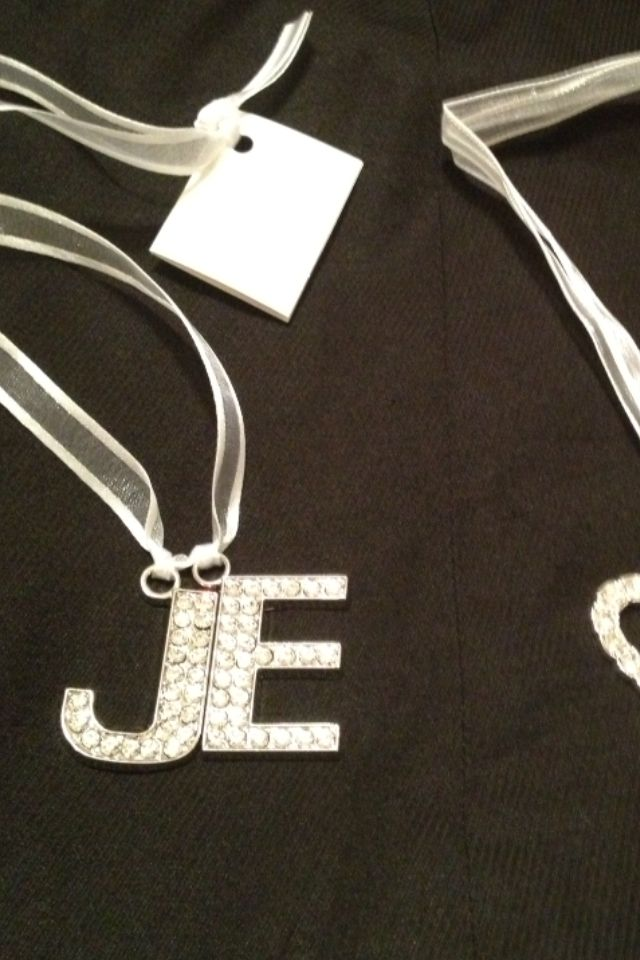 Personalized keepsafe for a beautiful bride to wear on her wedding day!!