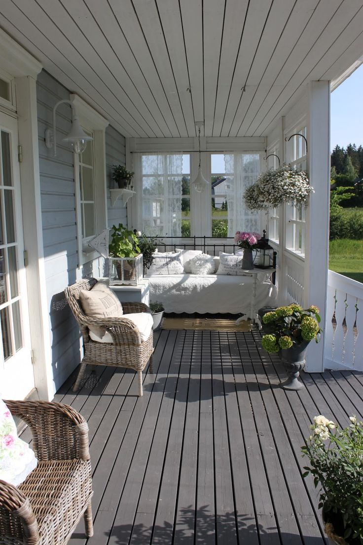 1379 best images about Outdoor spaces - deck and yard on ... on Country Patio Ideas id=38226