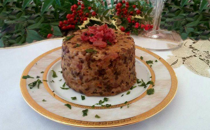Tortini+di+Capodanno+con+cotechino+e+lenticchie