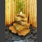 Kaskaden Komplettset Brunnen beiger Sandstein 5stu…