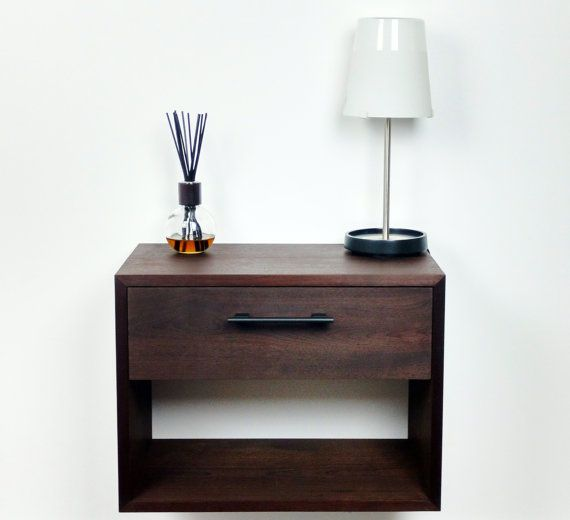 Modern Pair Of Lamp Table Bedside End Side Tables Solid: 17 Best Ideas About Wall Mounted Bedside Table On