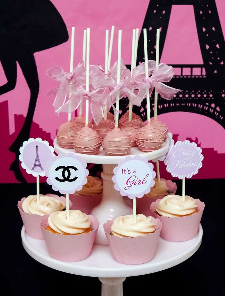 French / Parisian Baby Shower Party Ideas