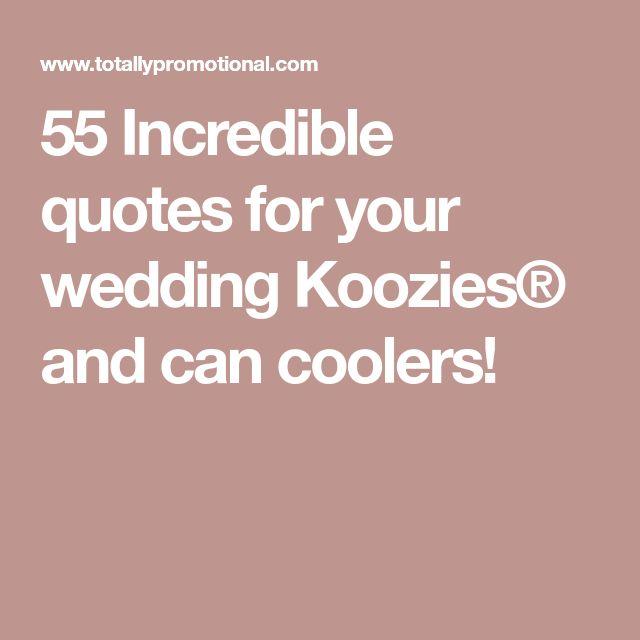 The 25+ best Wedding koozies ideas on Pinterest | Wedding favours ...