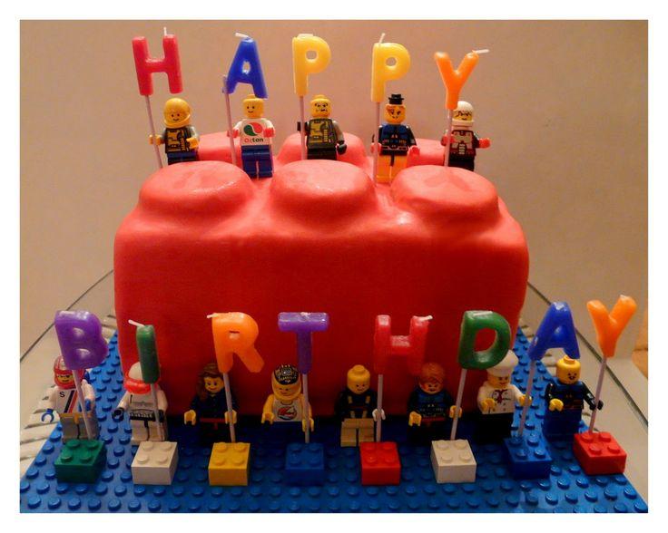 Admirable Micah Idea Easy Boys Birthday Cakes Easy Lego Cake A Piece Funny Birthday Cards Online Kookostrdamsfinfo