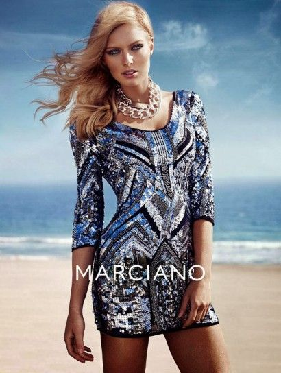 Minidress di paillettes Guess By Marciano