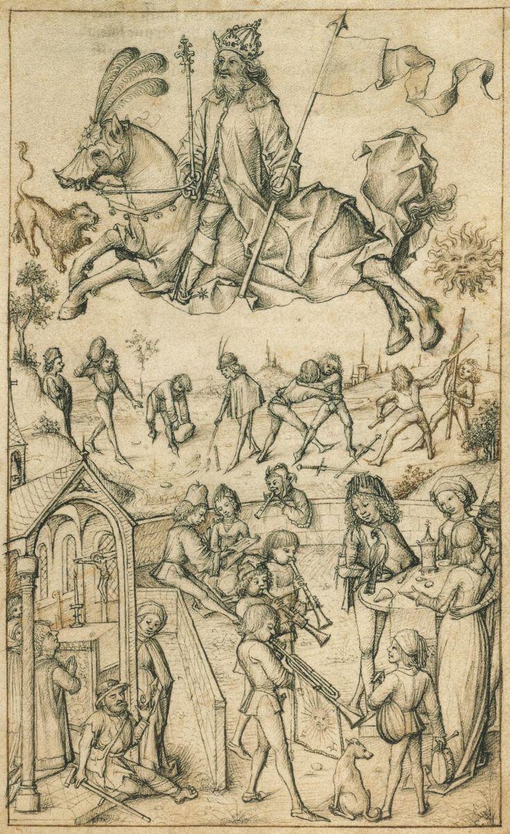 Hausbuch Wolfegg, Sol und Seine Kinder (children of the sun)