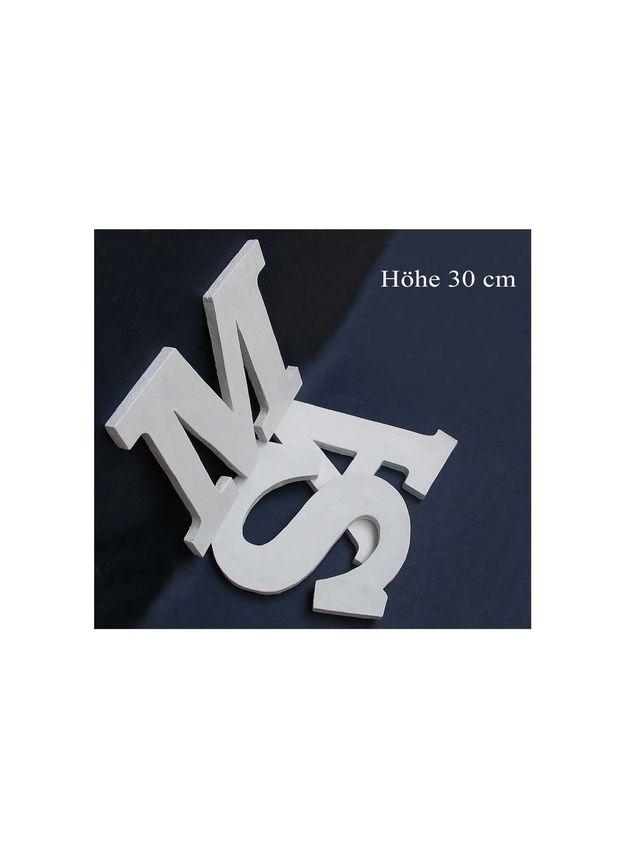 *Holzbuchstaben in 30cm Höhe:   Diese Holzbuchstaben sind 12 mm dick und 30 cm hoch.   Es können alle Buchstaben in gesamten Alphabet bestellt werden, auch wenn Sie in der Galerie nicht abgebildet...
