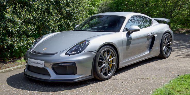 Porsche Cayman GT4 GT Silver for sale