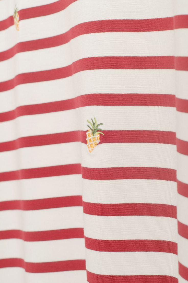 Olive - Pineapple Stitch Tee, Wine, £28.00 (http://www.oliveclothing.com/p-oliveunique-20150430-087-wine-pineapple-stitch-tee-wine)
