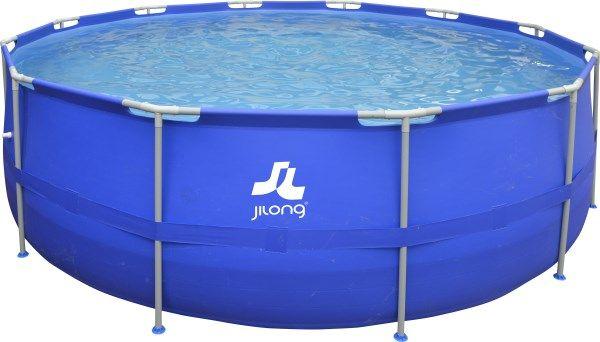 Piscina Dimensione 360 x 76 cm colore blu