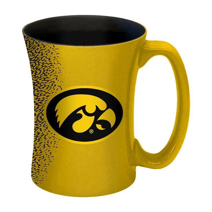 Boelter Iowa Hawkeyes Mocha Coffee Mug Set, Multicolor