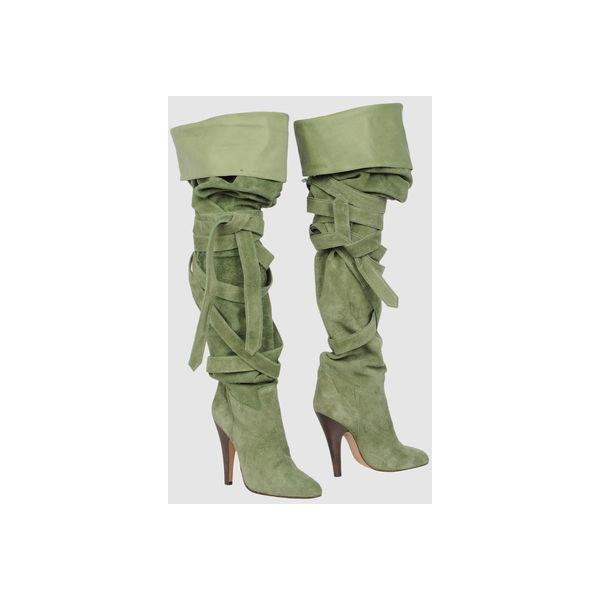 CHLOE' Для Женщин - Обувь - Сапоги на каблуке CHLOE' на YOOX
