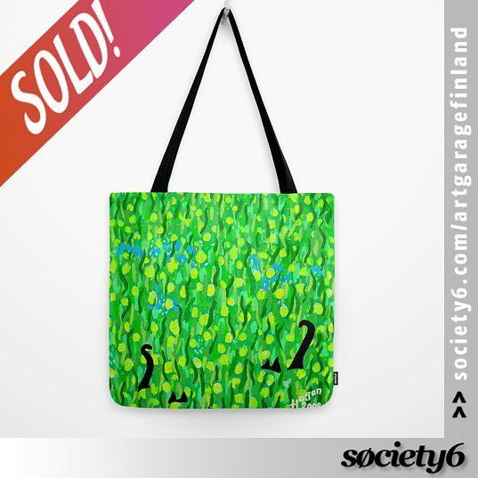 Sold!! 😁 ..thanks to the buyer of this 'Two Black Cats' Tote bag design from my @society6 store! #handpaintedart    _____________________________    #sold #society6 #cats #blackcats #twoblackcats #art #totebag #green #accessories #tails #catstails #two #doubletrouble #instacats #catlover #catlovers #instagreen #instaart #catdesign #dots #painting #artist #shareyoursociety6 #s6 #instabag #bagoftheweek #littlegreenbag #handpainted