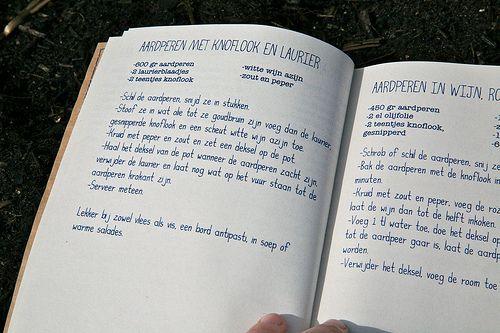 recepten voor aardperen, aardperen en aardperen :-)