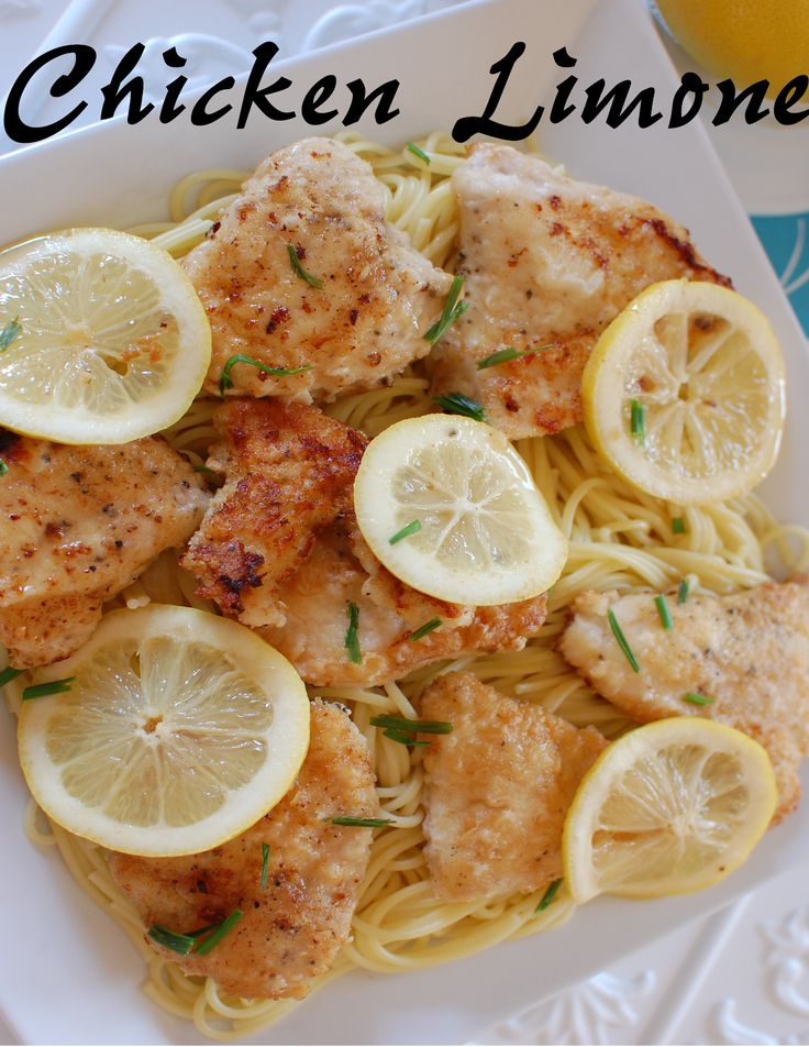 A    Sprinkle    of    This    and    That: Memory Lane Monday:  Chicken Limone