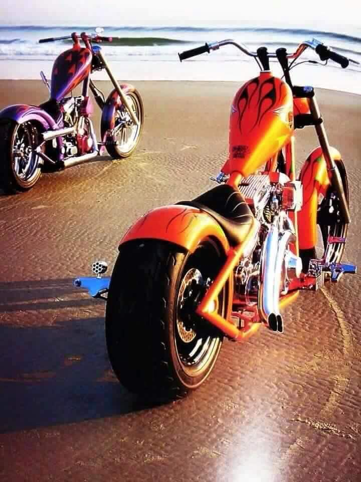 bikerkim62: Jesse James chopper wroom wroom