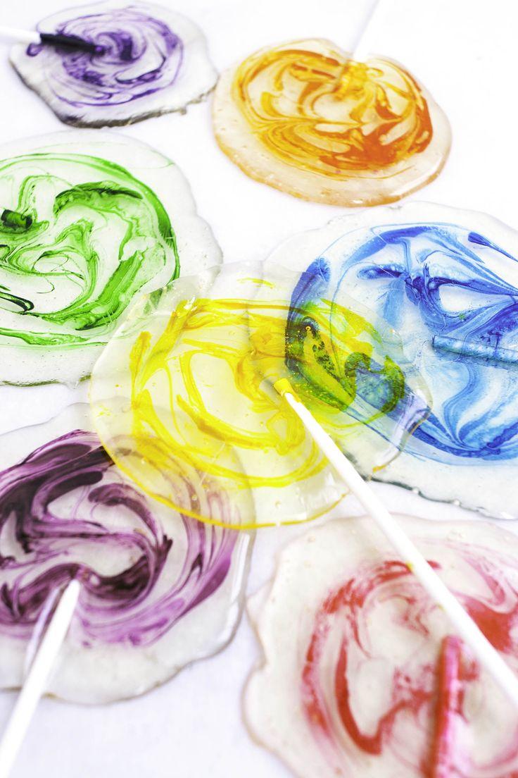 Homemade Lollipops                                                                                                                                                                                 More
