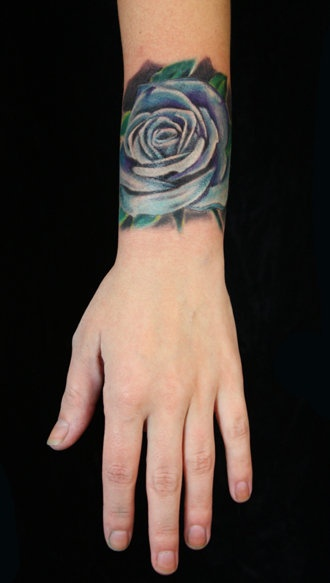 1000 ideas about blue rose tattoos on pinterest rose for Paris tattoos charlotte