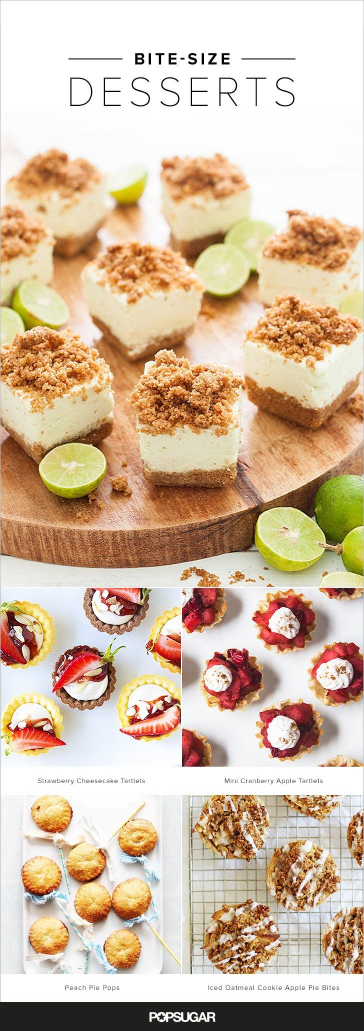28 Bite-Size, Party-Ready Dessert Recipes