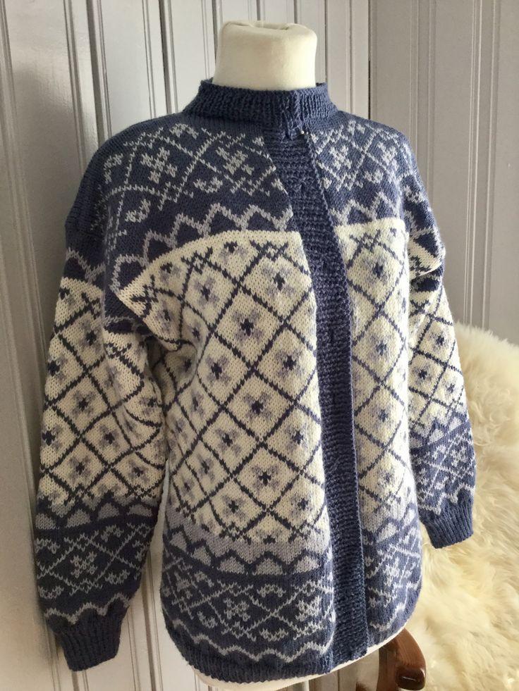 Sørlandskofte norwegian design Knitted
