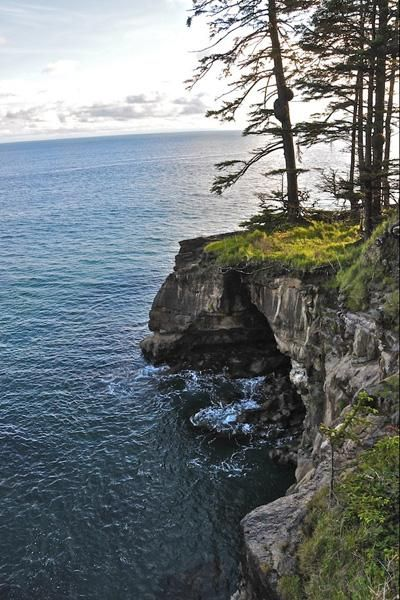 West Coast Trail - This trail on nature-dominated Vancouver Island has some of the most stunning scenery in the entire Pacific Northwest. Rugged coastline and lush forests surround the path, giving hikers contact with a variety of landscapes.