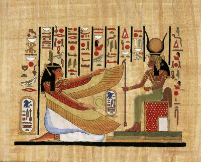 Papyrus Isis