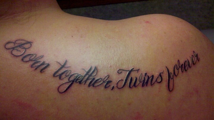 Maybe a new tattoo for me. Not hater Brie since we all know what happened with the last one
