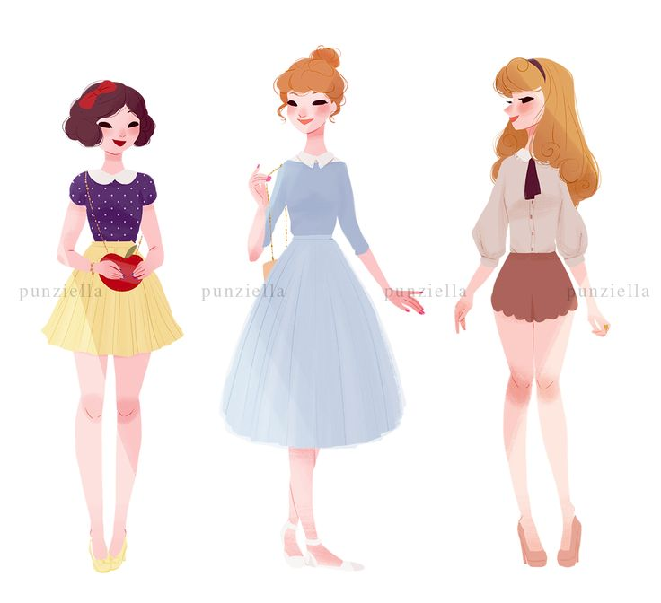 Pinup Arena • punziella: ♡ casual princesses and a queen ♡ I'll...