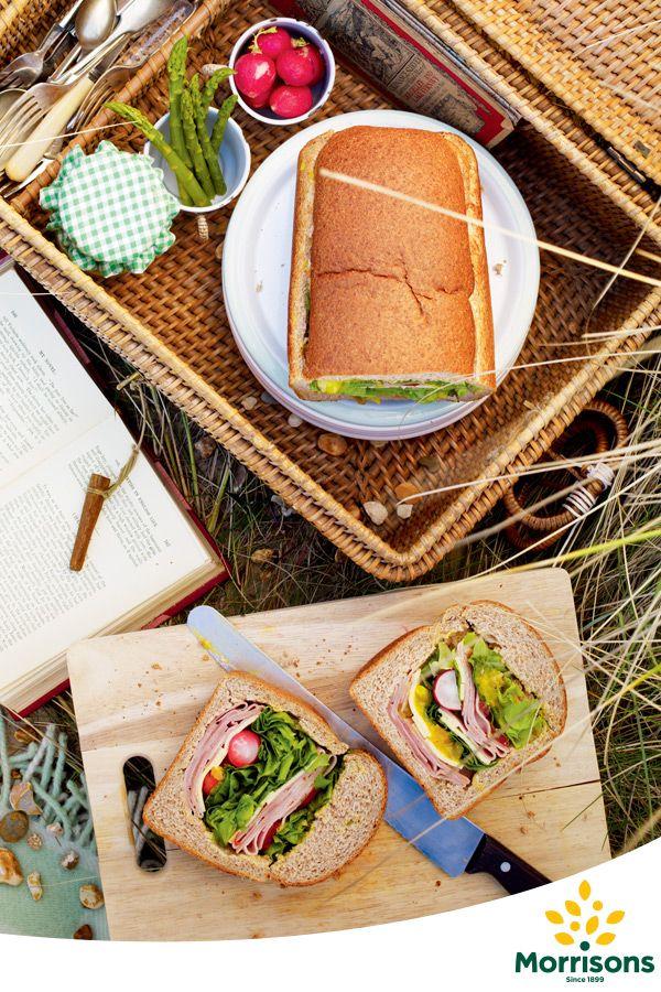 Ham and Piccalilli Picnic Loaf