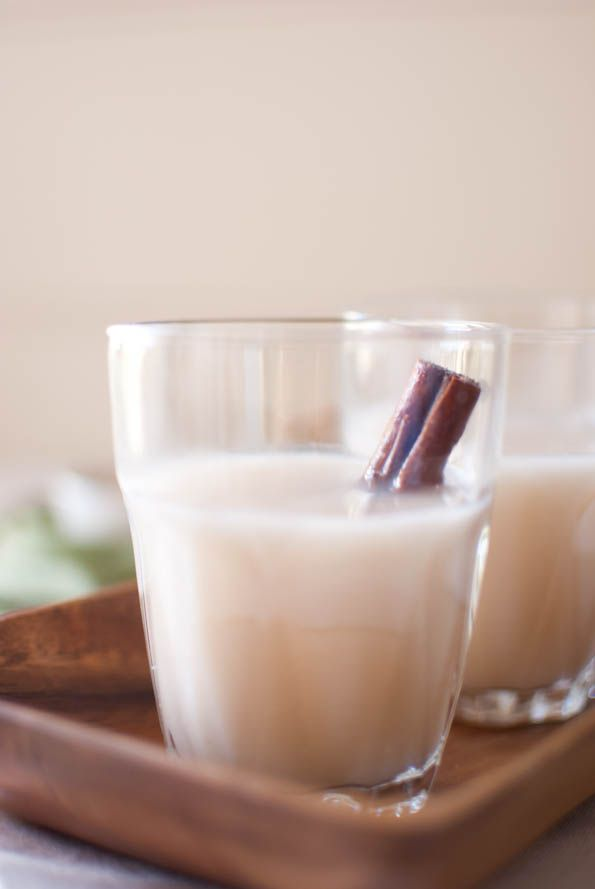Homemade rice milk. I've been dying to make this since the first time I tasted it.
