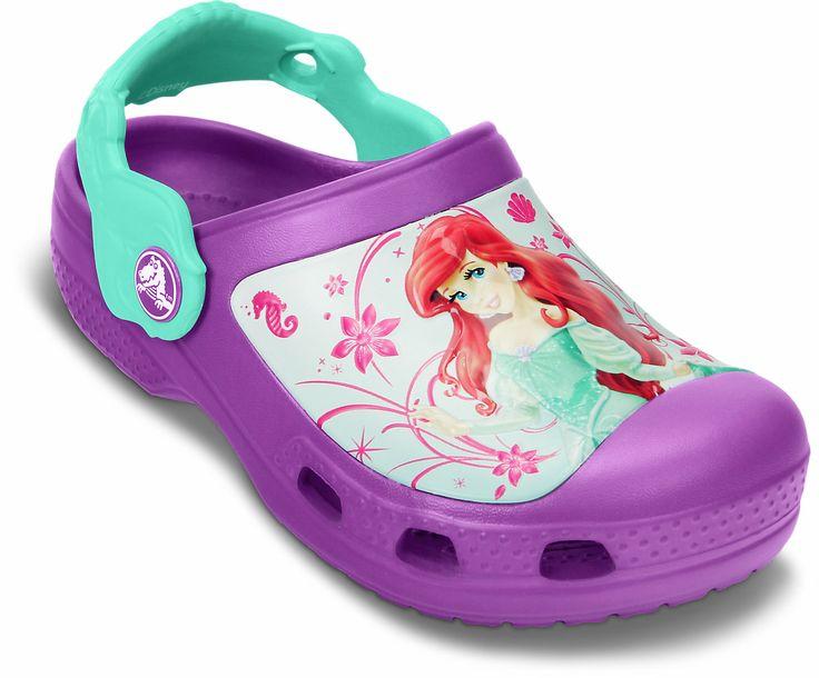 Crocs™ Crocband Princess Ariel Clog (Girls' Infant-Toddler-Youth) MdsnZ