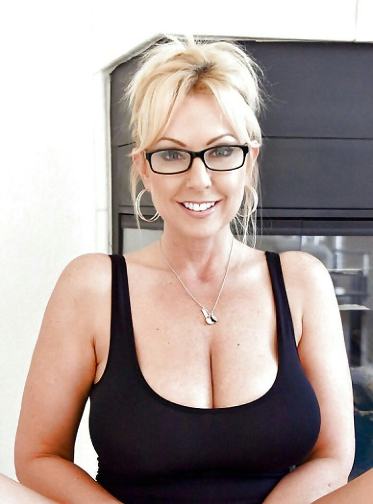 Mature milf with glasses