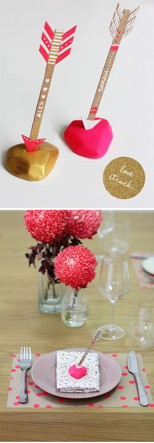 28 best diy name card holders images on pinterest for Diy place card holders for thanksgiving