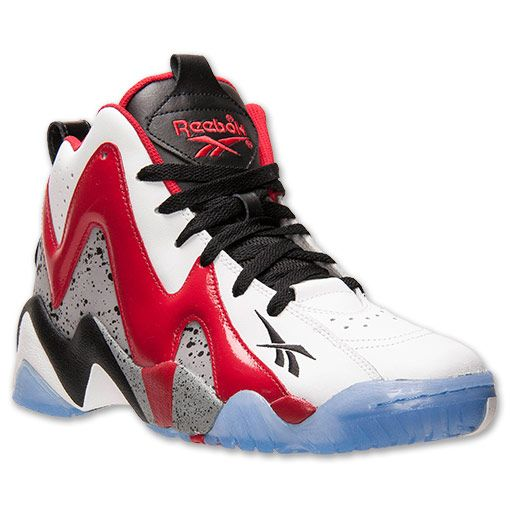 Men's Kamikaze II Basketball Shoes. One of the most exciting hoops stars of the '90s is celebrated with the release of the Reebok Kamikaze II Men's Basketball Shoes. These stylish kicks were once worn by Supersonics player Shawn Kemp and many of the same design details, including the distinctive lightning/zigzag design on the upper, remain in this new release. While these basketball sneakers are stylish enough for everyday wear, they also feature the performance details you need to take the…