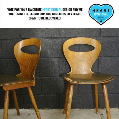 These are the chairs - aren't they totally gorgi?!