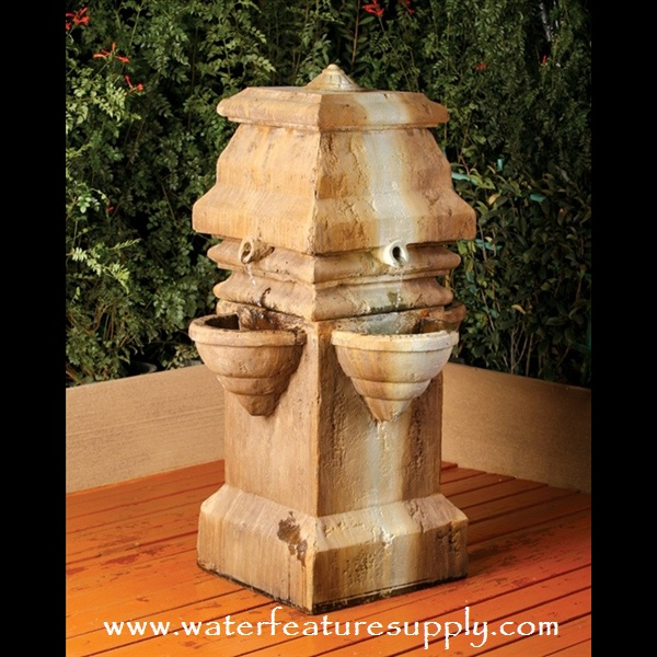 This outdoor fountain is ideal for any setting. Built to last, this garden waterfall is guaranteed to last a lifetime. Please visit us at https://www.waterfeaturesupply.com/waterwalls/outdoor-water-fountains.html to get more information about this specific outdoor water feature.