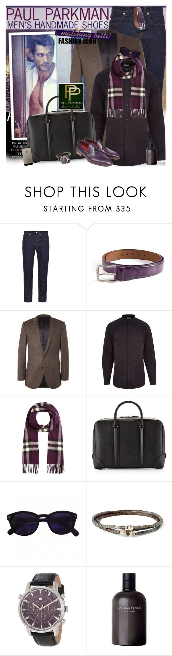 """""""Luxurious belts and shoes for men - PAUL PARKMAN"""" by vn1ta ❤ liked on Polyvore featuring KEEP ME, McQ by Alexander McQueen, J.Crew, River Island, Burberry, Givenchy, Dsquared2, Luis Morais, Tommy Hilfiger and Bottega Veneta"""