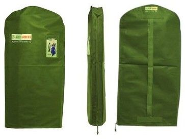 The Green Garmento Signature 4-in-1 Reusable Bag, Green Grass contemporary laundry products