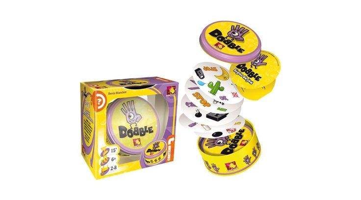 7. helyezett: Dobble -  az iskolák és óvodák nagy kedvence is ez a játék. Megunhatatlan! #dobble #okosodjvelunk