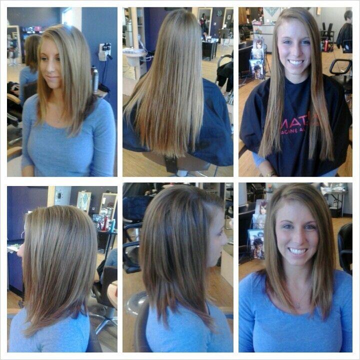 Long inverted bob with layers | hair brushes and nail polish ...