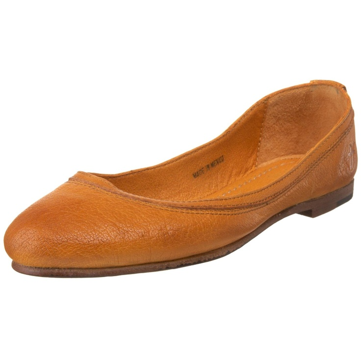 Frye Carson Ballet Flat, Curry