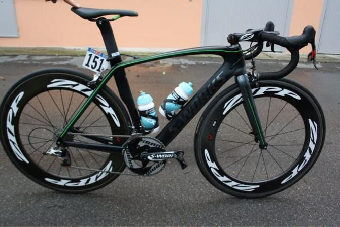 Photo: Mark Cavendishs special 100th victory Specialized Venge bike
